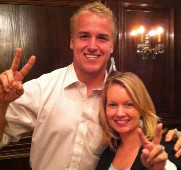 Fight on! ...from Matt Barkley and I