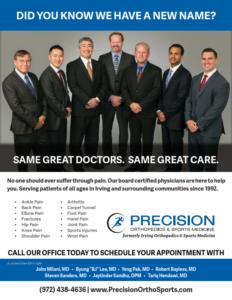 Orthopedic advertising