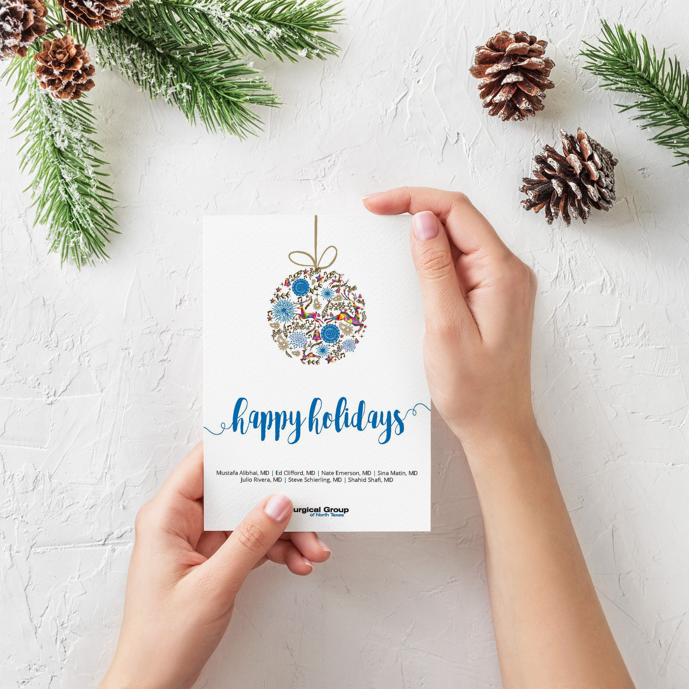 HOLIDAY CARD l SGNT
