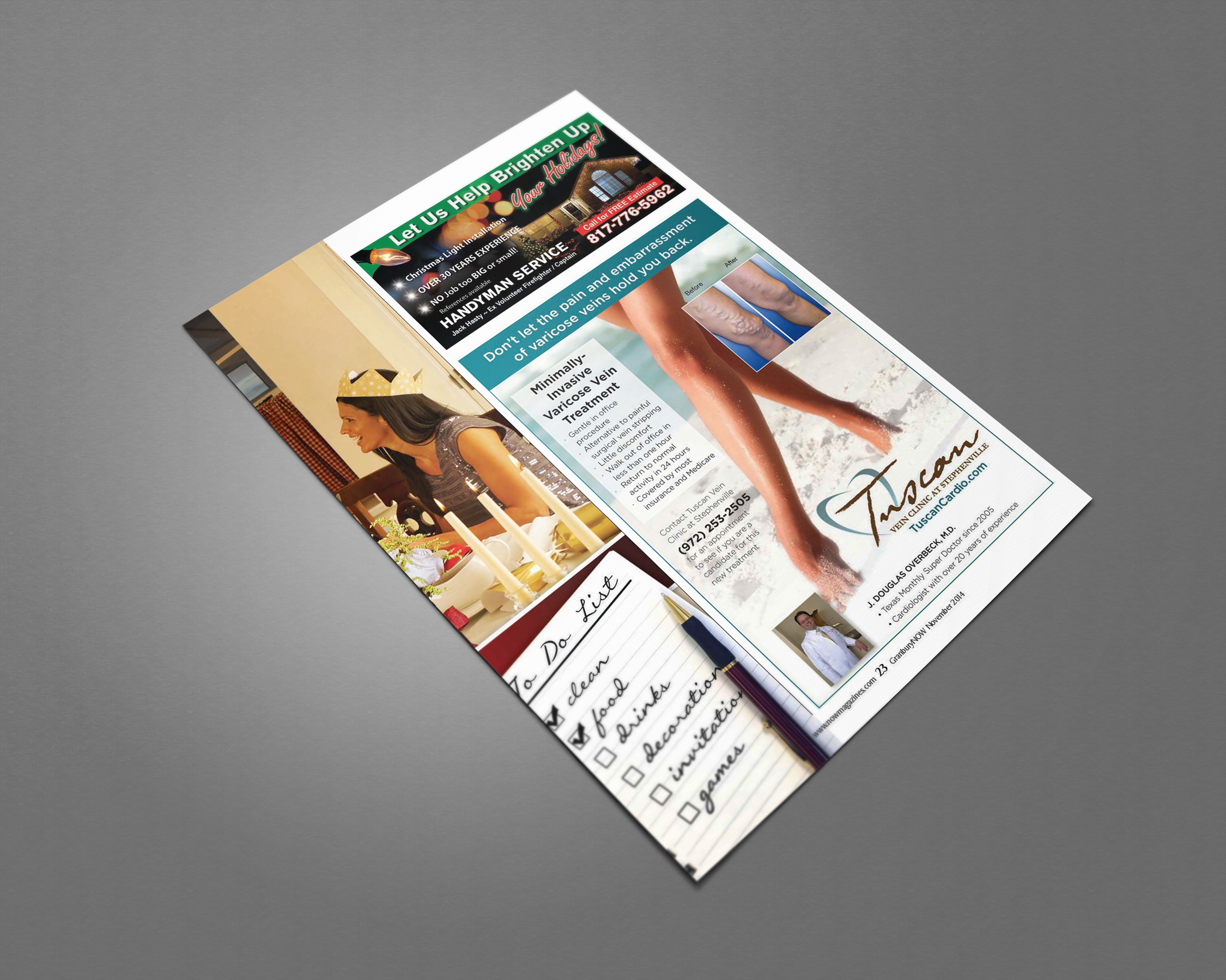AD l Tuscan Granbury Now Magazine