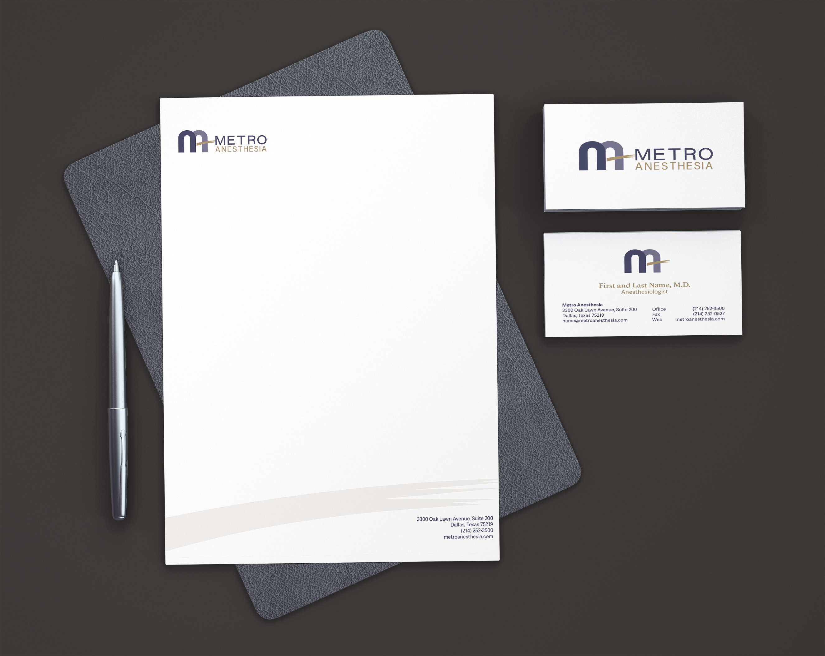 IDENTITY PACKAGE l Metro Anesthesia