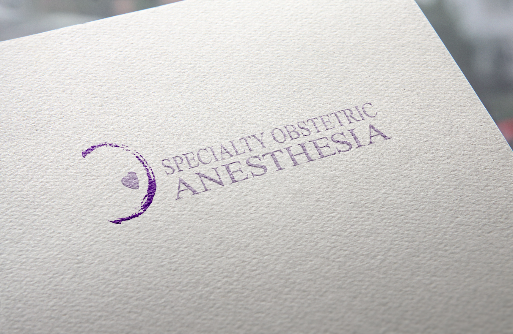 LOGO l Speciality Obstetric Anesthesia