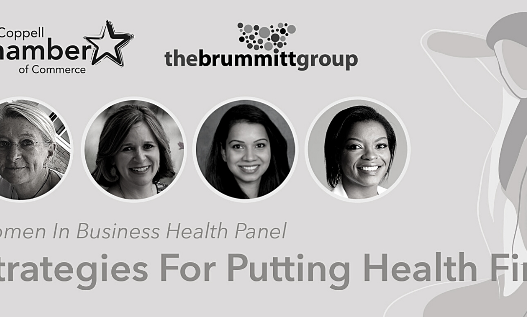 The Brummitt Group Collaborates with Coppell Chamber of Commerce for Women's Health Panel